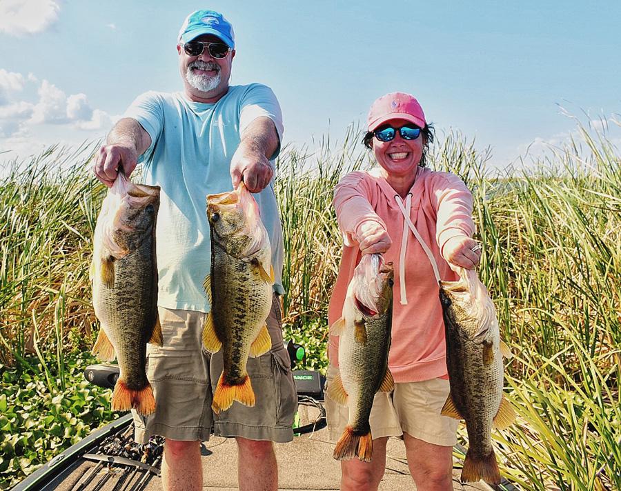 February 19, 2019 – Lake Okeechobee Bass Fishing Report