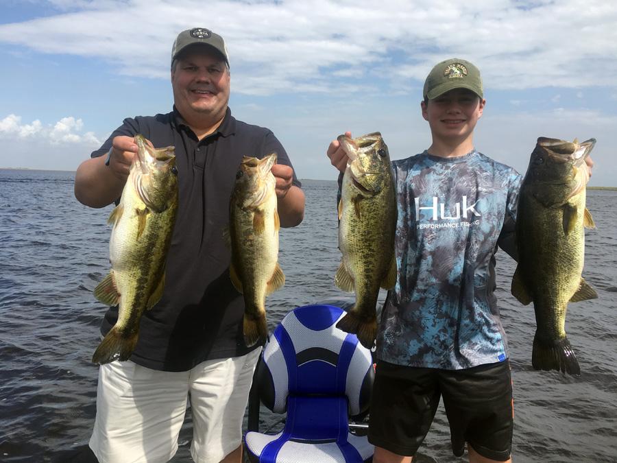February 21, 2019 – Lake Okeechobee Bass Fishing Report